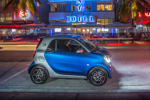 Smart Fortwo Electric Drive 2016