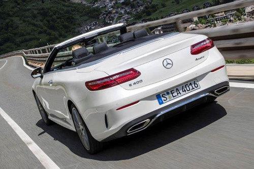 Mercedes E Klasse Cabrio Verdeck Windschott