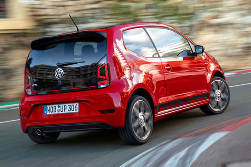 vw up gti erster test schon gefahren autowelt. Black Bedroom Furniture Sets. Home Design Ideas