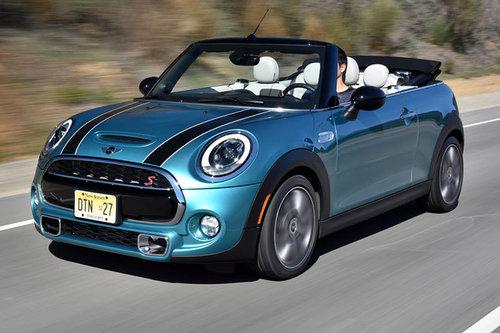 neues mini cabrio erster test schon gefahren autowelt. Black Bedroom Furniture Sets. Home Design Ideas