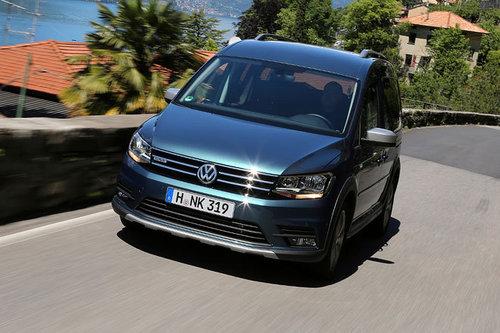 Erdgas-Comeback: VW Caddy TGI VW Caddy TGI Erdgas 2017