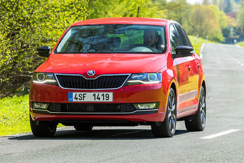 Skoda Rapid Facelift - erster Test Skoda Rapid Spaceback 2017
