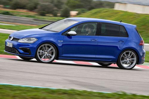VW Golf R, GTI Performance, GTE und eGolf - erster Test Volkswagen VW Golf R 2017