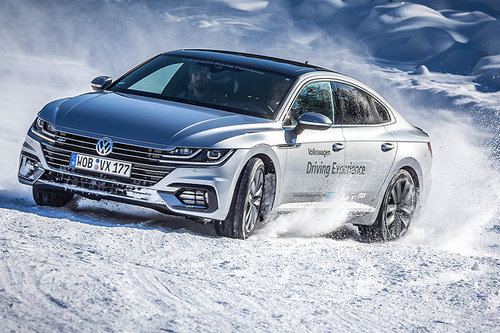 VW Driving Experience Winterfahrtraining VW Driving Experience 2018