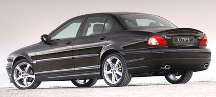 sport styling kit f r jaguar x type news autowelt. Black Bedroom Furniture Sets. Home Design Ideas