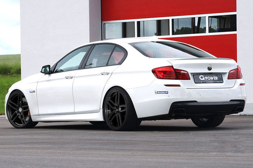tuning bmw m550d von g power news autowelt. Black Bedroom Furniture Sets. Home Design Ideas