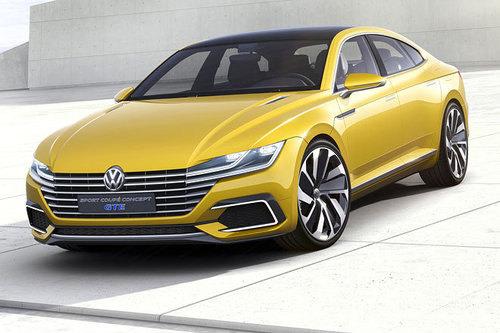 VW Sport Coupe Concept GTE Arteon 2017