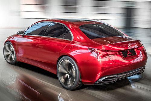 Mercedes Concept A Sedan 2017