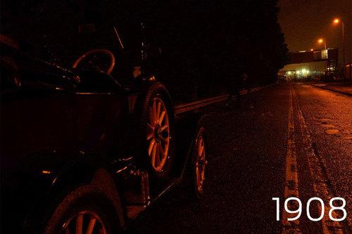 Ford Model T Scheinwerfer 1908