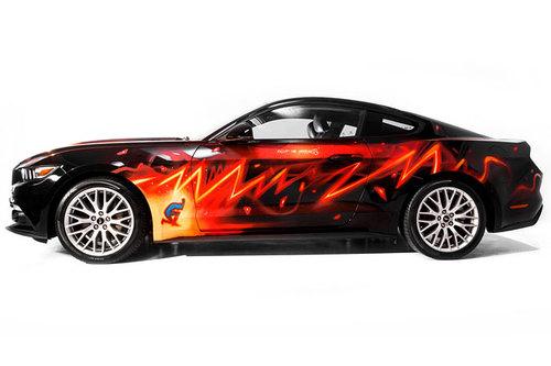 Ford Mustang Als Comic Strip Auf Rädern News Autowelt Motorlinecc
