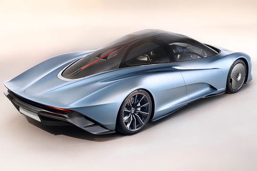 McLaren Speedtail 2018