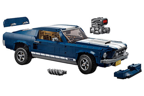 ford mustang als lego bausatz news autowelt. Black Bedroom Furniture Sets. Home Design Ideas