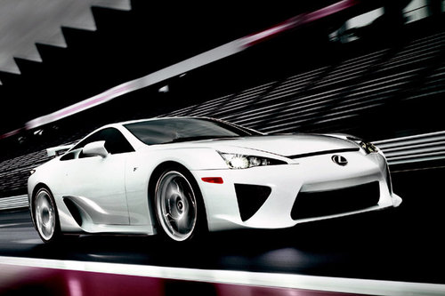 lexus lfa mit n rburgring performance paket news autowelt. Black Bedroom Furniture Sets. Home Design Ideas