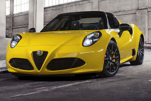Weltpremiere in Detroit: Alfa 4C Spider