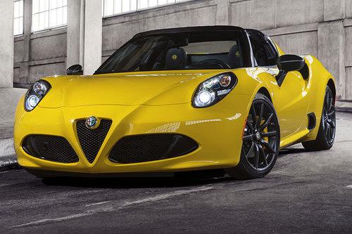 Weltpremiere in Detroit: Alfa 4C Spider