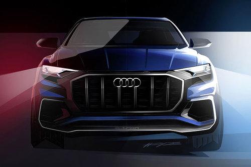 Detroit Auto Show: Audi Q8 Concept Audi Q8 Concept 2016