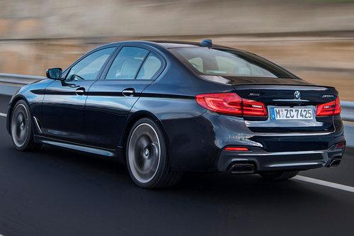 Detroit Auto Show: BMW-Neuheiten BMW M550i 2017