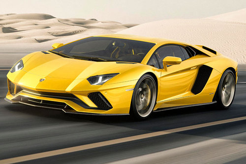Detroit: Lamborghini Aventador S Lamborghini Aventador S 2017