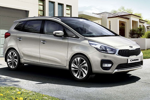 Pariser Autosalon: Facelift Kia Carens Kia Carens 2016