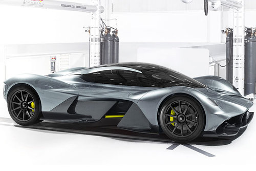 Aston Martin, Red Bull, Cosworth: Valkyrie Aston Martin Red Bull AM-RB 001 Valkyrie 2017