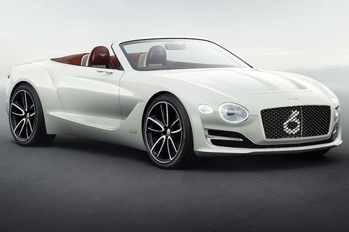 Auto Shanghai: Bentley EXP 12 Speed 6e Bentley EXP 12 Speed 6e 2017