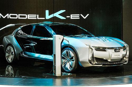 Auto Shanghai: Qoros K-EV mit 870 PS Qoros K-EV 2017