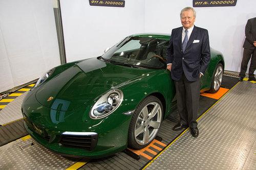 Einmillionster Porsche 911 produziert Porsche 911 2017
