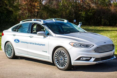 Ford gibt Gas beim autonomen Fahren Ford Mondeo Fusion autonom autonomous 2017