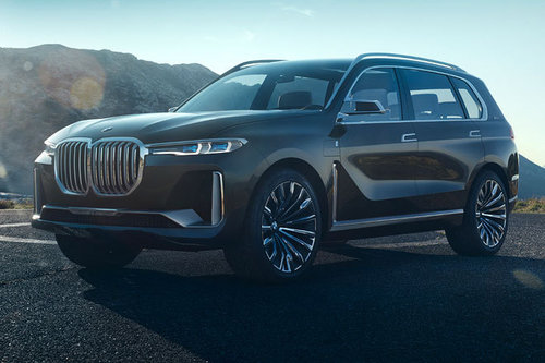 IAA 2017: BMW Concept X7 iPerformance BMW Concept X7 iPerformance 2017