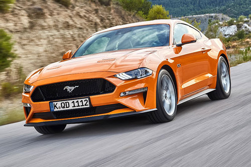 IAA 2017: aktualisierter Ford Mustang Ford Mustang 2018