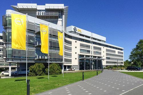 Kommentar: Opel-Übernahme durch PSA Opel Zentrale Rüsselsheim 2017