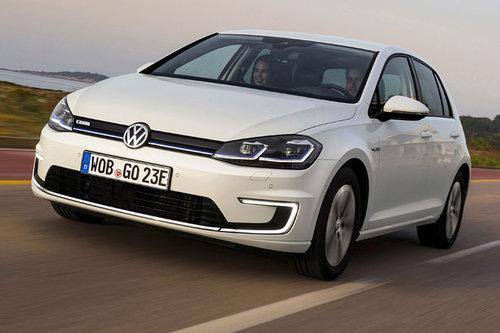 Mai/Juni: Volkswagen Elektro-Fahrtage VW Volkswagen e-Golf 2017