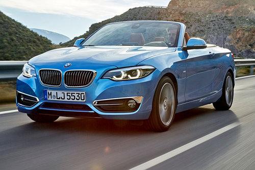 Modellpflege BMW 2er Coupe und 2er Cabrio BMW 2er Cabrio 2017