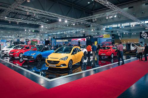 Opel auf der Vienna Autoshow 2017 Opel Vienna Autoshow 2017