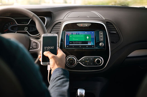 Renault: Apple CarPlay & Android Auto renault android auto 2017