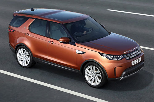 Vienna Autoshow: Land Rover Discovery Land Rover Discovery 2017