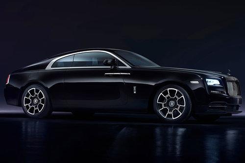 Vienna Autoshow: Rolls-Royce Rolls-Royce Wraith Black Badge 2017