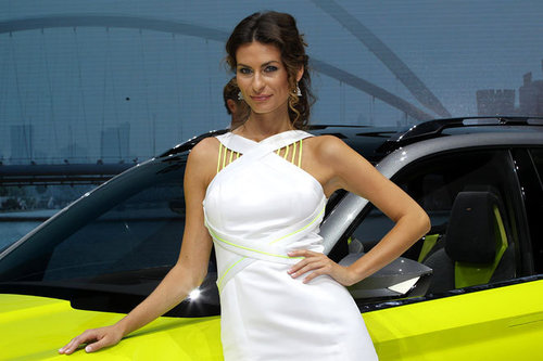 Genfer Autosalon: die Messe-Girls