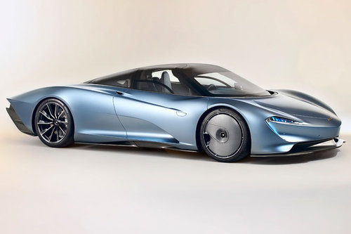Hypersportler: McLaren Speedtail McLaren Speedtail 2018