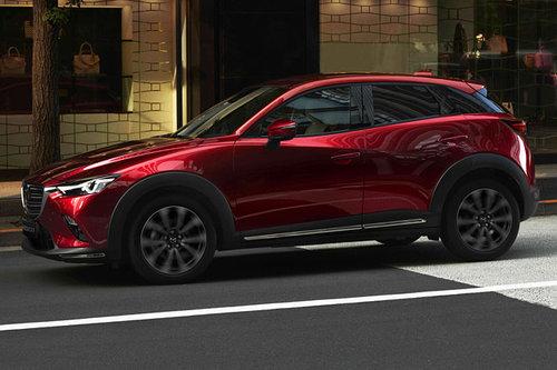 new york auto show facelift mazda cx 3 news autowelt. Black Bedroom Furniture Sets. Home Design Ideas