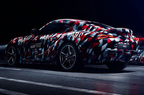 Toyota Supra: Comeback in Goodwood