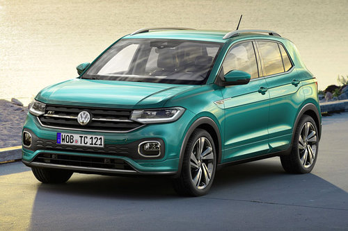 Vienna Autoshow: VW T-Cross VW T-Cross 2018