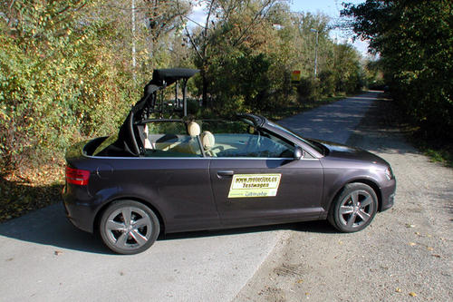 audi a3 cabrio 1 9 tdi ambition im test autotests. Black Bedroom Furniture Sets. Home Design Ideas