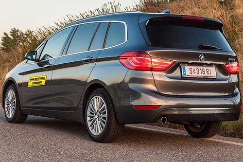 bmw 218d gran tourer luxury line aut. - im test - autotests