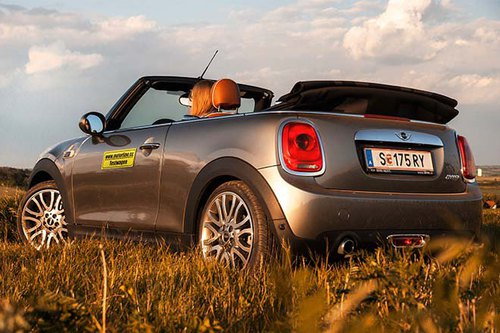 mini cooper cabrio im test autotests autowelt. Black Bedroom Furniture Sets. Home Design Ideas