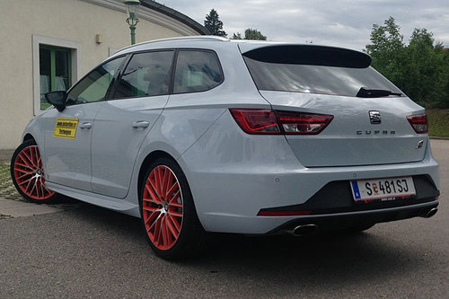 seat leon st cupra 290 dsg im test autotests autowelt. Black Bedroom Furniture Sets. Home Design Ideas