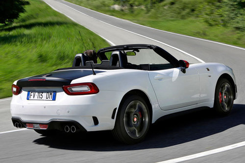 abarth 124 spider 1 4 multiair im test autotests. Black Bedroom Furniture Sets. Home Design Ideas