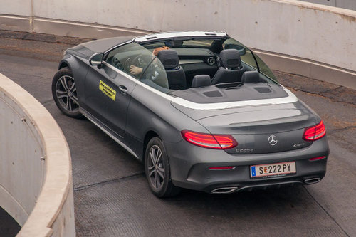 mercedes c 220 d 4matic cabrio im test autotests. Black Bedroom Furniture Sets. Home Design Ideas