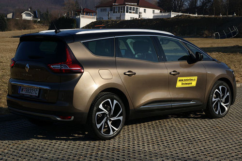 renault grand scenic dci 160 edc bose im test autotests autowelt. Black Bedroom Furniture Sets. Home Design Ideas