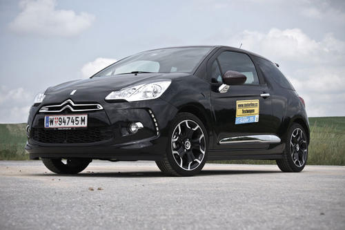 citroen ds3 thp 150 sport chic im test autotests. Black Bedroom Furniture Sets. Home Design Ideas